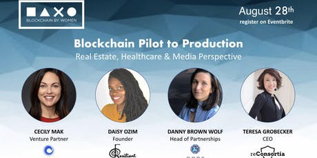 Blockchain Pilot to Production: Consumer Goods, Real Estate, and Healthcare Perspectives tickets