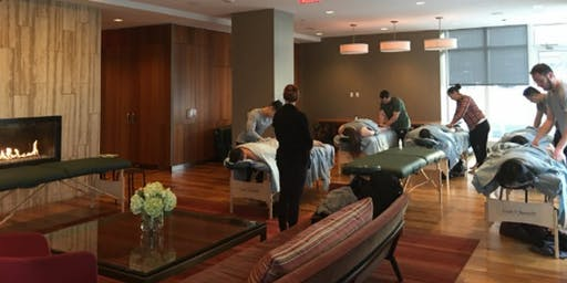 The Love Institute Couples Massage Class for Ashton Kutcher's Thorn - TX