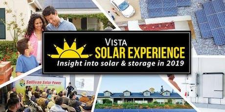 Vista Solar Experience tickets