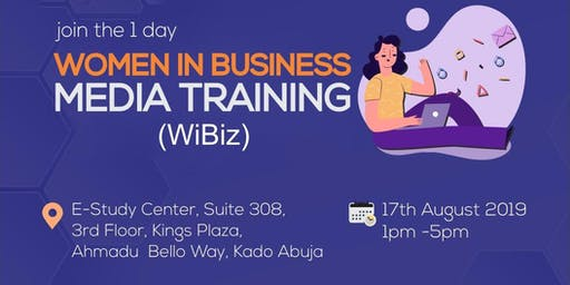 Women In Business Media Training (WiBiz)