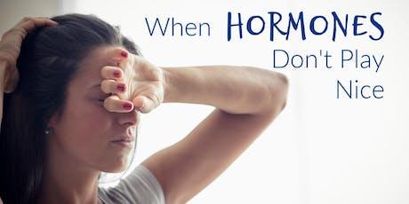 Stress, Hormones, and Fatigue tickets