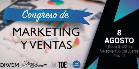 CONGRESO DE MARKETING Y VENTAS boletos