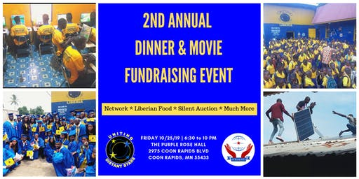 2nd Annual Dinner & Movie Fundraising Event