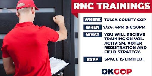 RNC Data Training - Tulsa