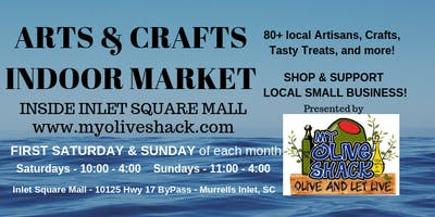 My Olive Shack's Indoor Arts & Crafts Market