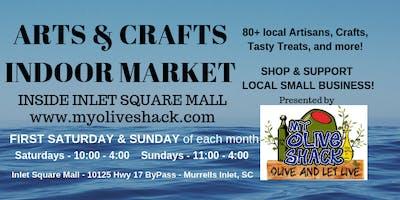 My Olive Shack's Indoor Arts & Crafts Market