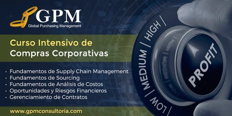 Curso Intensivo de Compras Corporativas (Sede: Santa Cruz) tickets