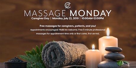 Massage Monday at Curaleaf Hudson Valley tickets
