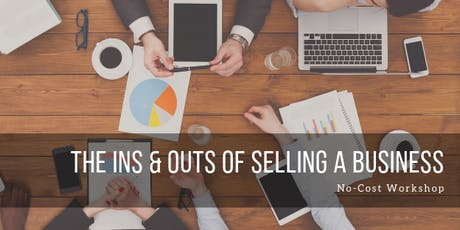 Ins & Outs of Selling a Business-Nevada City tickets