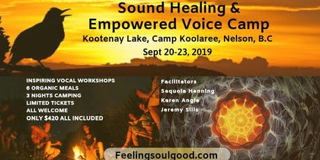 Sound Healing and Empowered Voice Camp tickets