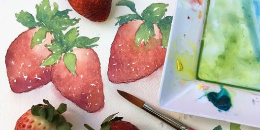 Watercolour Workshop: Winter Fruits