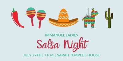 Immanuel Ladies Salsa Night