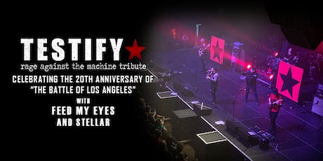 Testify - Rage Against the Machine Tribute tickets