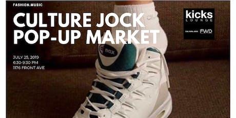 Culture Jock Pop-Up Market tickets
