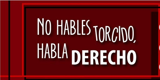 """""""No hables Torcido, habla derecho"""" Caracas"""