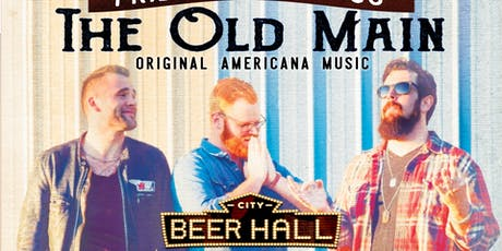 The Old Main live on the patio tickets