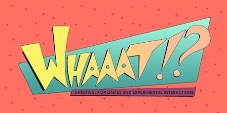 Whaaat!? Arcade tickets