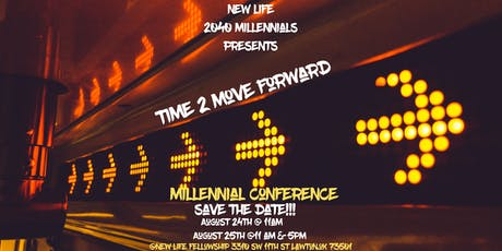New Life 2040  Millennial Conference tickets