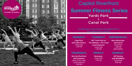 Capitol Riverfront Summer Fitness Series: Bootcamp tickets