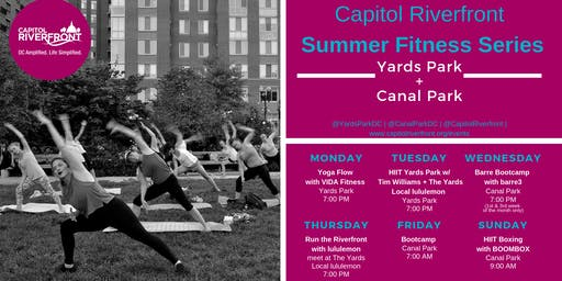 Capitol Riverfront Summer Fitness Series: Bootcamp