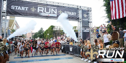 SAINTS KICKOFF RUN Presented by Chevron