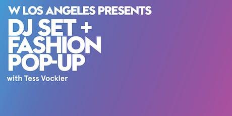 LIBRARY Fashion Pop-Up Ft. Tess Vockler DJ Set tickets