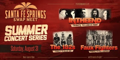 Santa Fe Springs Swap Meet Summer Concert Series