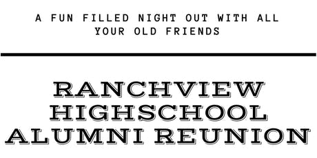 Ranchview High School Alumni Reunion tickets
