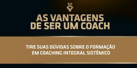 [BELO HORIZONTE/MG] As vantagens de ser um Coach - 18 de Julho  ingressos