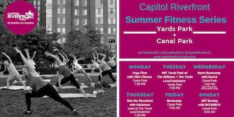Capitol Riverfront Summer Fitness Series: Yoga w/ VIDA Fitness tickets