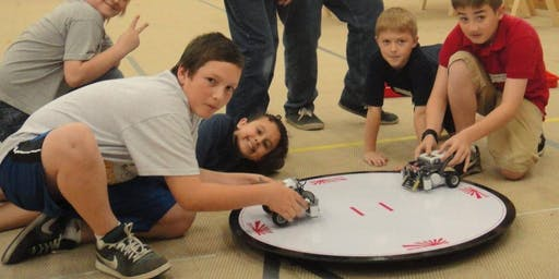 Robot Competition For All Ages: Registration Required