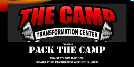 PACK THE CAMP tickets