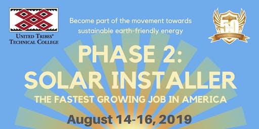 Solar Training - Phase 2: Mobile Solar Unit