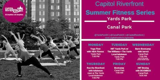 CapRiv Fitness Series: Run the Riverfront w/ The Yards Local Run Club