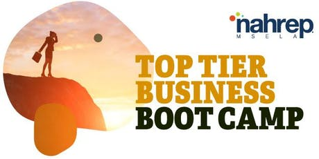 NAHREP MSELA: Top Tier Business Boot Camp tickets
