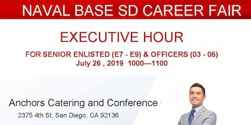 Naval Base San Diego Veteran Career Fair-  Executive Hour