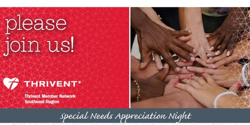 Special Needs Appreciation Night