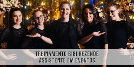 Treinamento Bibi Rezende - Assistente em eventos ingressos