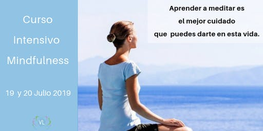 Curso  Mindfulness Intensivo 19 y 20 JULIO