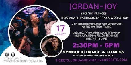 Kizomba & Tarraxa Workshop: Jordan-Joy from France! tickets