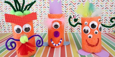 Craft a Pool Noodle Monster