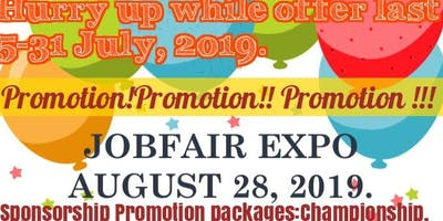 JOB FAIR & BUSINESS EXPO LONDON ( SPECIAL  SPONSORSHIP PROMOTION) till July 31