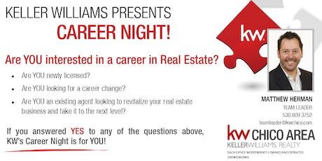Keller Williams Career Night - August 1st tickets