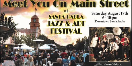 Santa Paula Jazz and Art Festival tickets