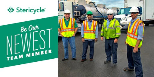 Stericycle Open House Interview Days | CDL & Non CDL Drivers | Columbus