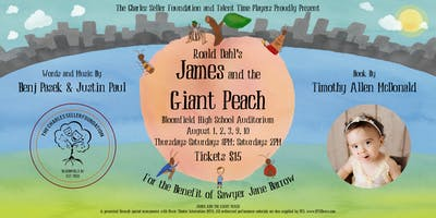 Talent Time Players Presents: Roald Dahl's James and the Giant Peach