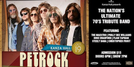 Pet Rock Live at Kanza Hall tickets