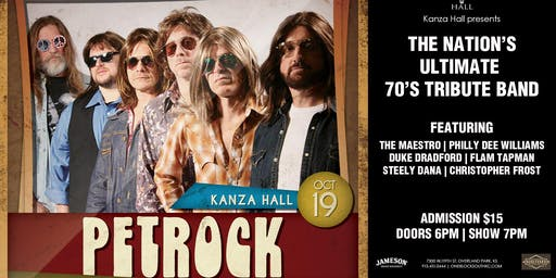 Pet Rock Live at Kanza Hall