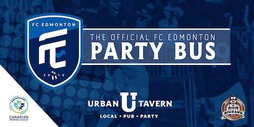 Urban Tavern's FC Edmonton Party Bus