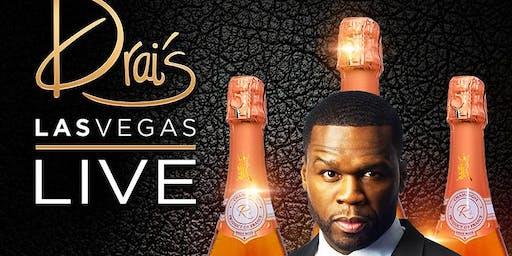 50 CENT LIVE - Drais Nightclub - #1 Vegas HipHop Party